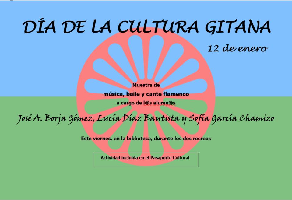 DÍA DE LA CULTURA GITANA 2_José A. Borja, Sofía García y Lucía Díaz