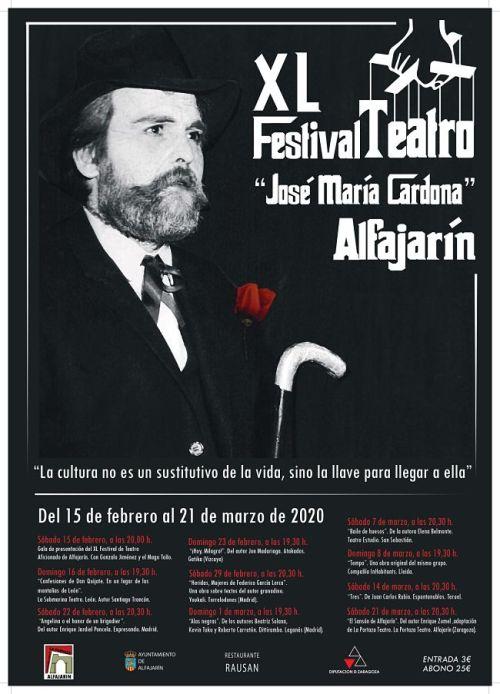 Festival Nacional de Teatro Aficionado de Alfajarín